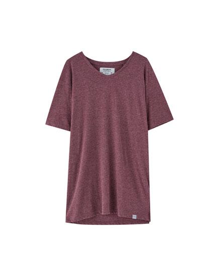 T-shirt med v-udskæring Join Life