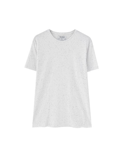 Camiseta textura neps