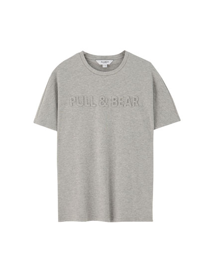 T-shirt with front logo