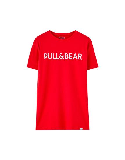 T-shirt logo manches courtes