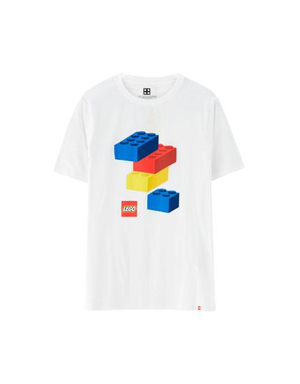 Krekliņš ar Lego klucīšiem