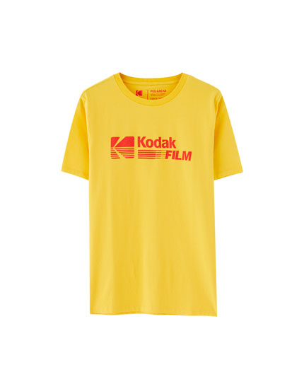 Yellow Kodak Film T-shirt