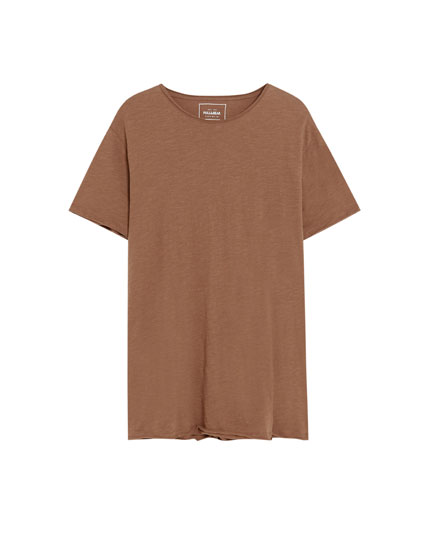 Tricou simplu cu mânecă scurtă