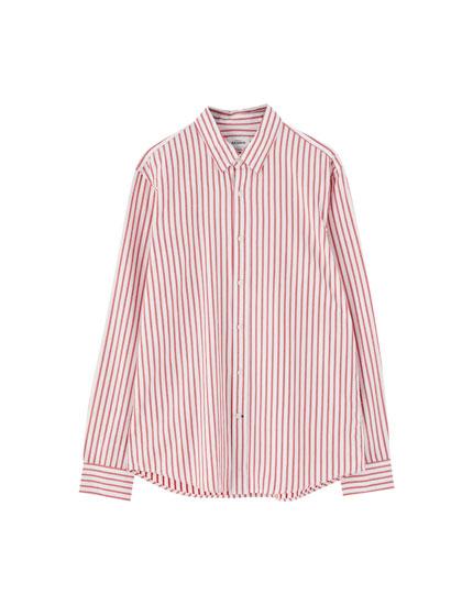 Camisa básica de manga larga