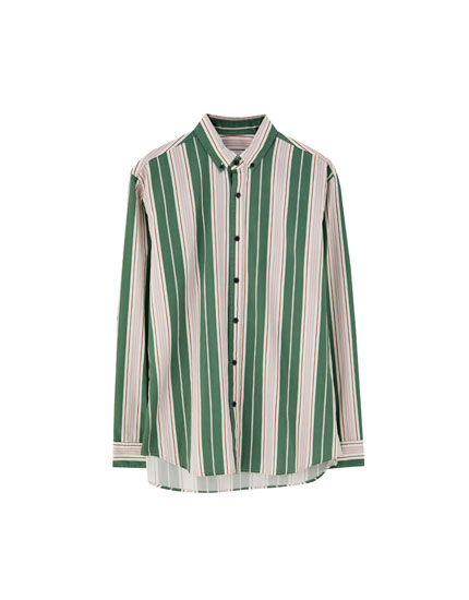 Retro striped shirt