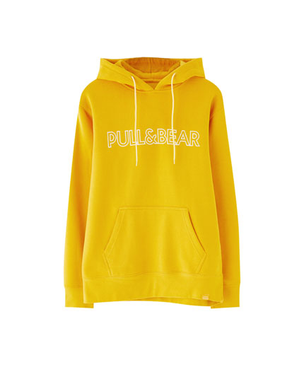 Pull&Bear logo hoodie