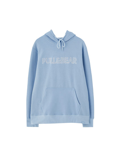 Hoodie embroidered logo