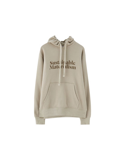 Sweat capuche inscription Join Life
