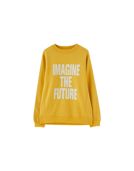 Join Life slogan sweatshirt