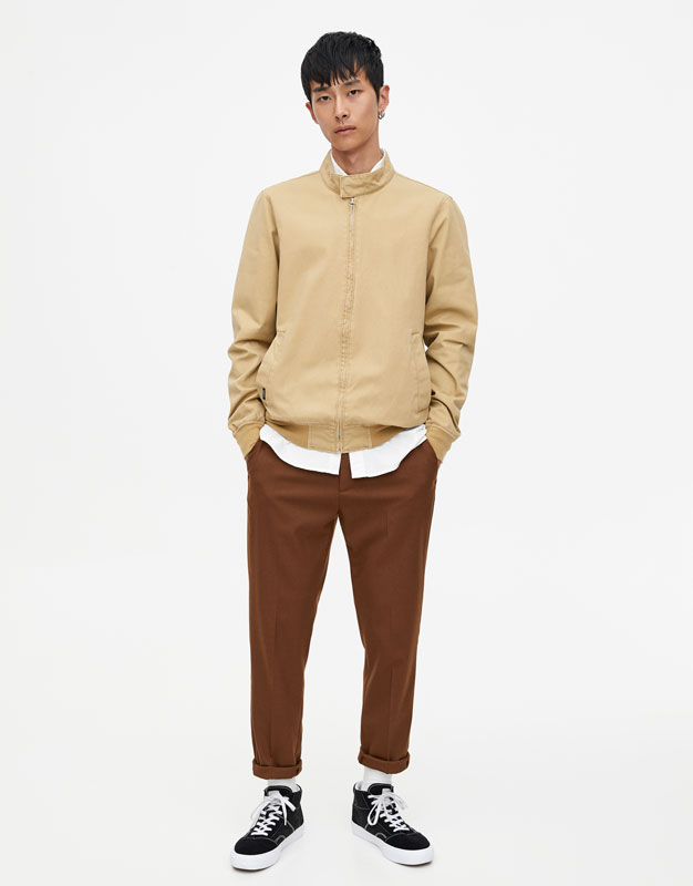 Pantaloni Chino Tip Tailoring by Pull & Bear