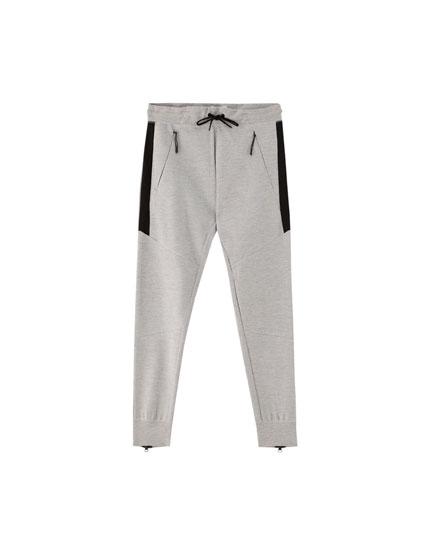 Pantalón jogging ottoman cordones