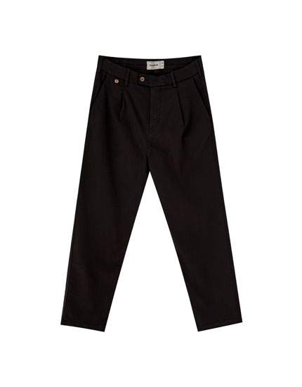 Pantalón chino loose fit