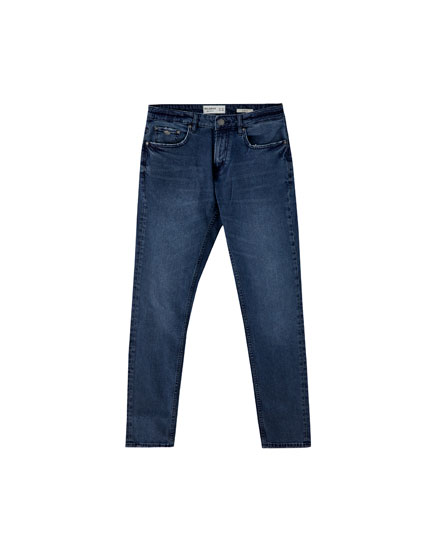 Jeans slim comfort fit azul oscuro
