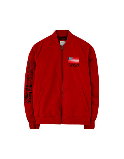 NASA bomber jacket