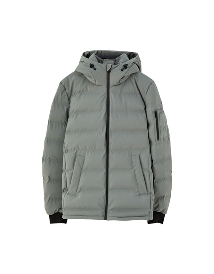 Seamless puffer jacket