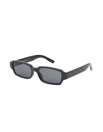 Long black sunglasses