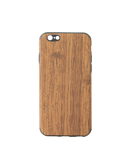 Wood iPhone 6/6S case