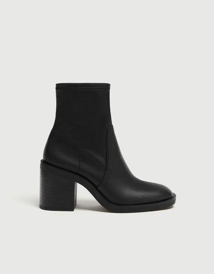 women s boots ankle boots winter sale 2018 pull bear rh pullandbear com