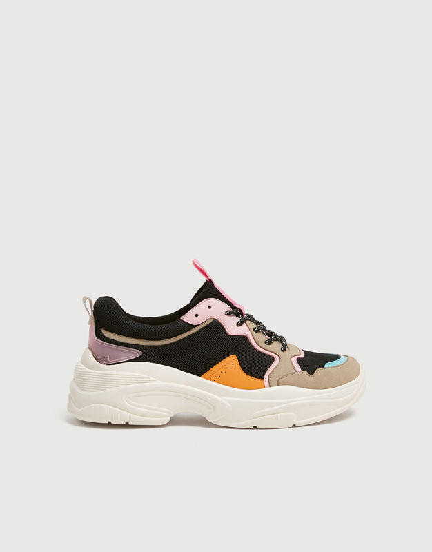 Chunky Sole Trainers by Pull & Bear
