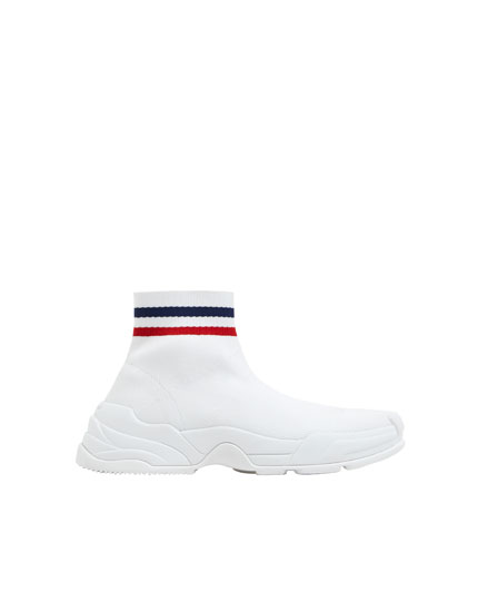 Fashion sock-style trainers