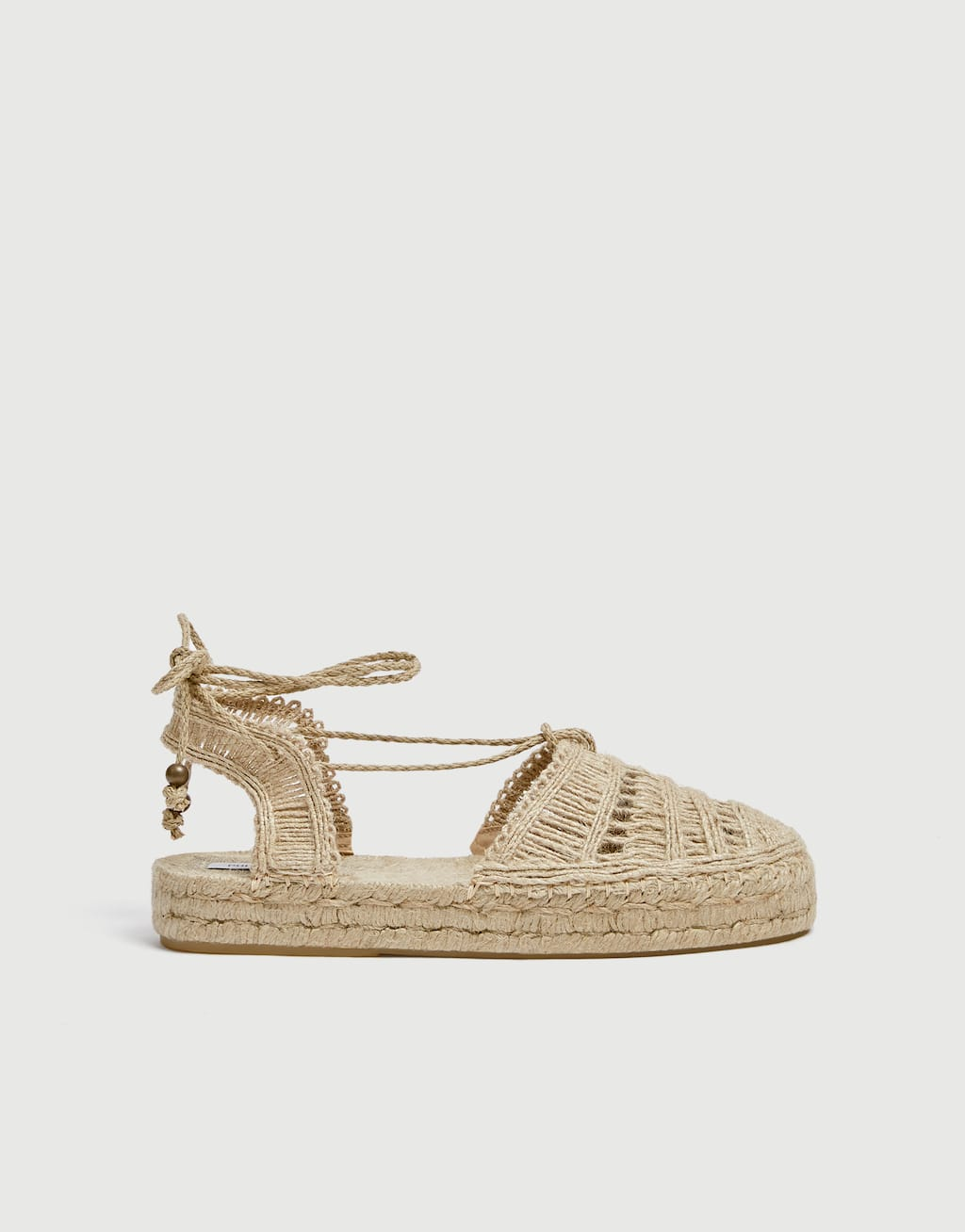 Sandales Plates Naturelles by Pull & Bear