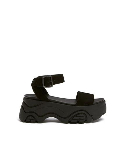 Fashion platform sandals
