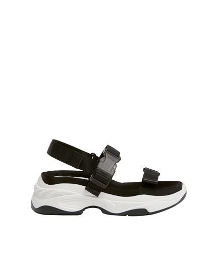 Sandales sport compensées