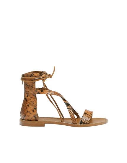 Flat Roman sandals