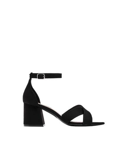 Basic, sorte sandaler