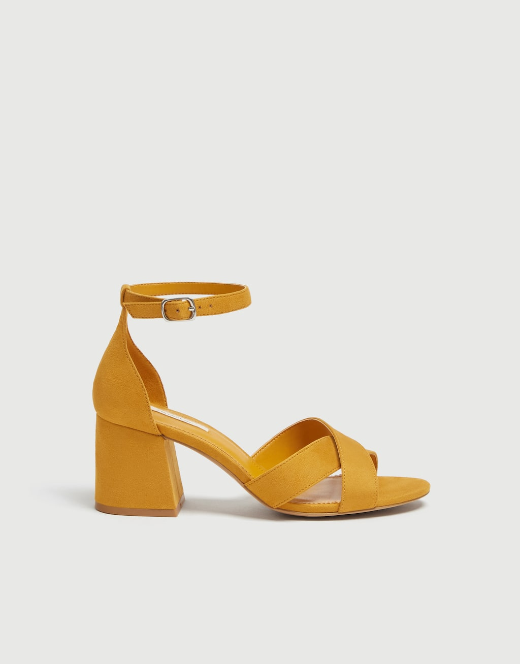 Sandales Basic Jaune Moutarde by Pull & Bear