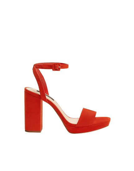 Women's high-heel sandals
