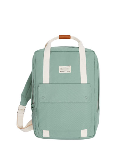 JOIN LIFE COLOURED FABRIC BACKPACK