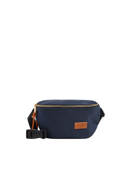 Navy blue belt bag