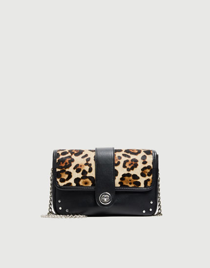Geantă crossbody animal print