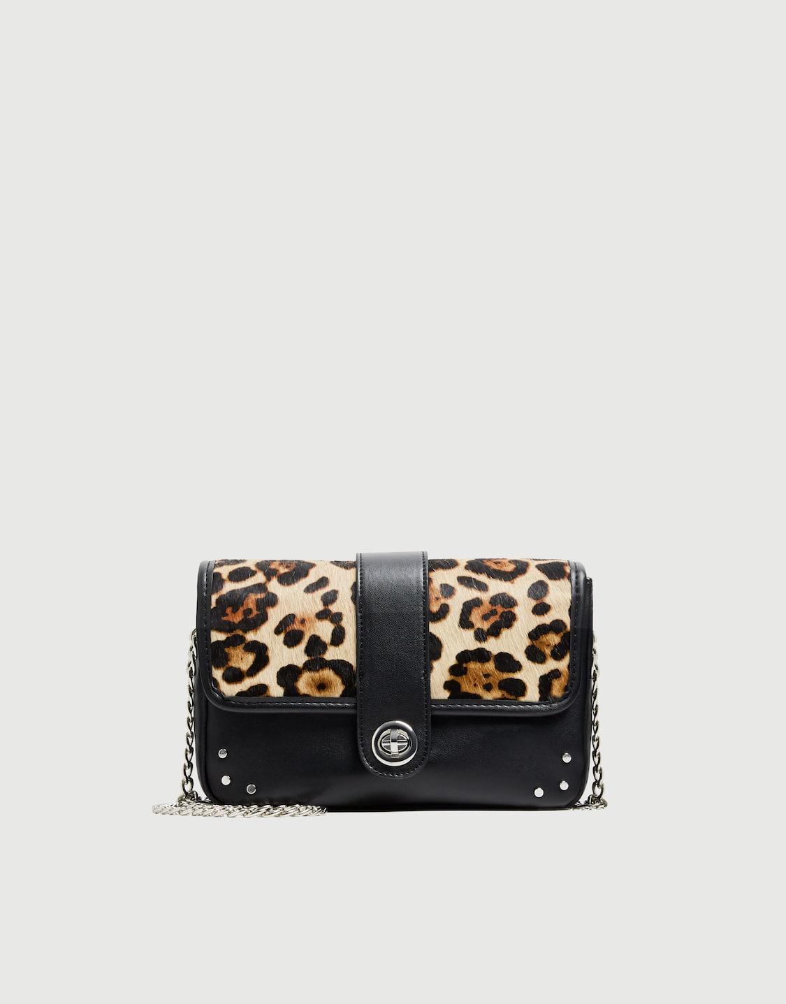 5ab780f27005 Animal print crossbody bag - pull&bear