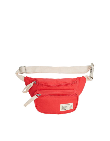 Join Life coral fabric belt bag