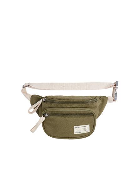 Join Life green fabric belt bag