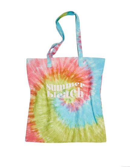 Tie-dye shopper