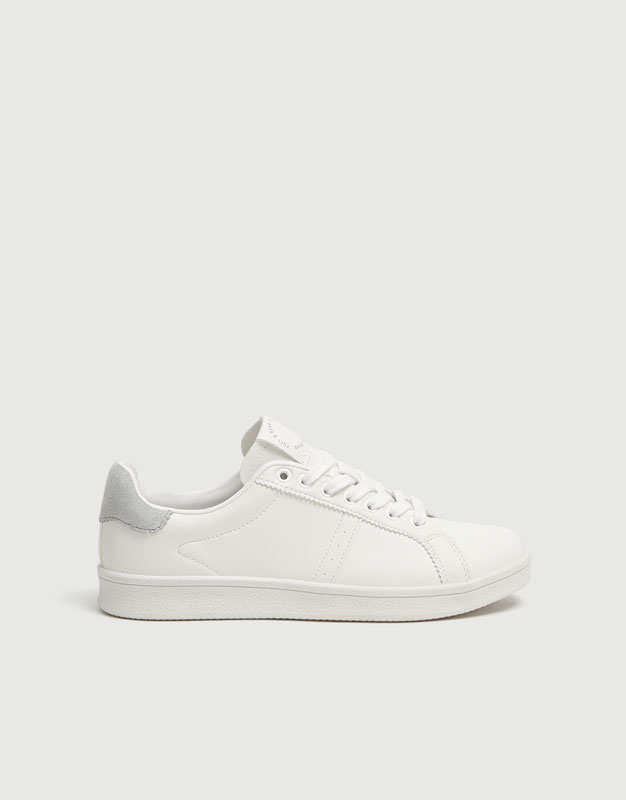 Urban Trainers With Grey Detail by Pull & Bear