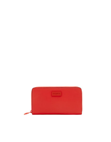 Cartera color rojo