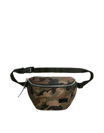 Camouflage belt bag