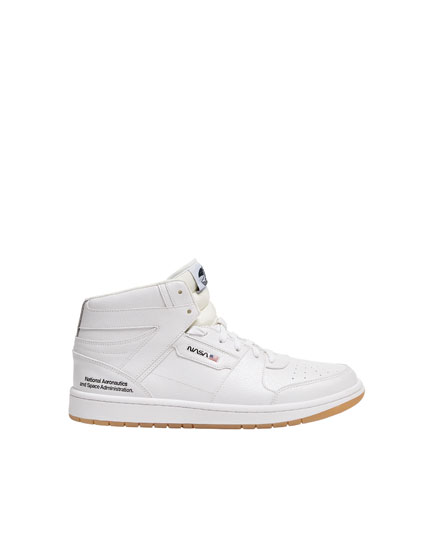 Nasa hightop sneaker