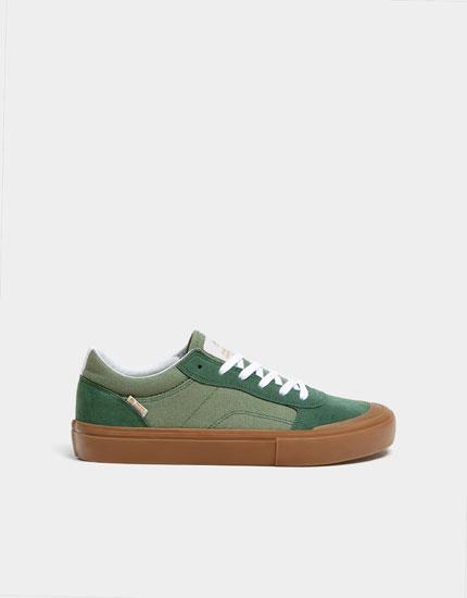 Teen-Sneaker in Grün