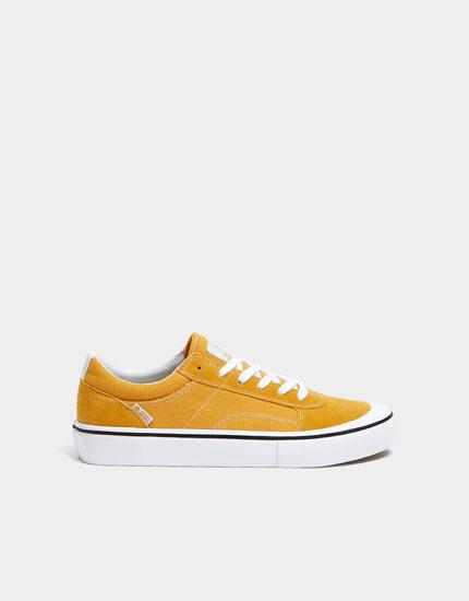Teen-Sneaker in Gelb
