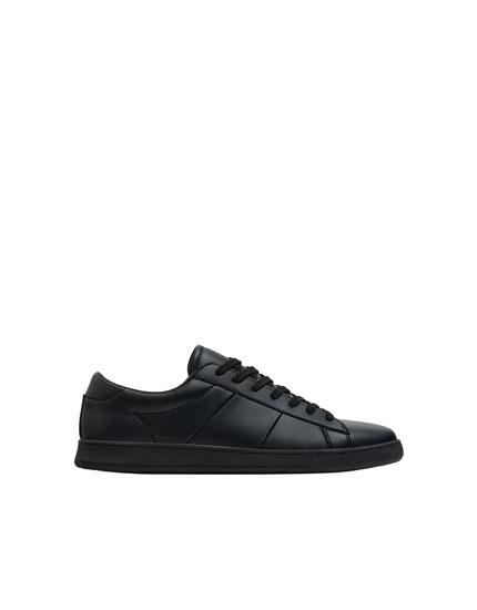 Urbane Sneaker in Schwarz