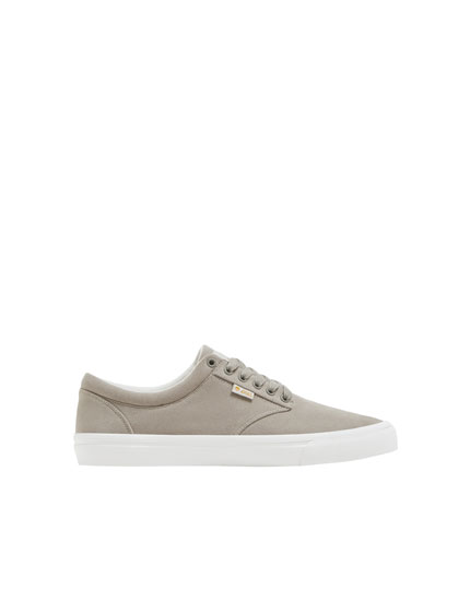 Zapatilla teen basic gris