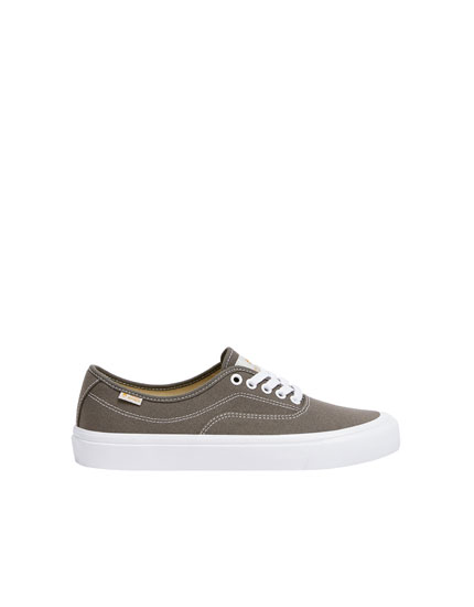 Grey pacific trainers