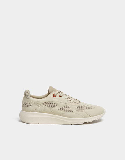 Join Life beige trainers