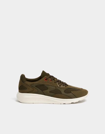 Grüner Sneaker Join Life