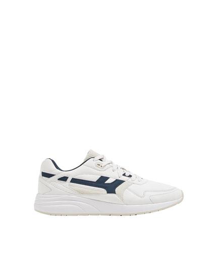 Urbane Sneaker in Weiß